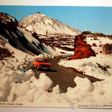 Postales: TENERIFE. TEIDE NEVADO.. Lote 24197608