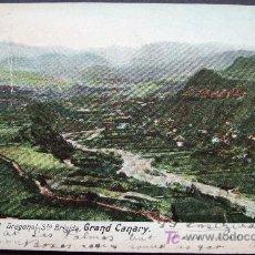 Postales: GRAN CANARIA – BARRANCO DEL DRAGONAL – STA. BRIGIDA. Lote 25013755