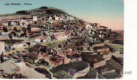LAS PALMAS ATALAYA.23. COLECCIONISMO Y MAS POSTALES EN RASTRILLOPORTOBELLO (Postales - España - Canarias Antigua (hasta 1939))