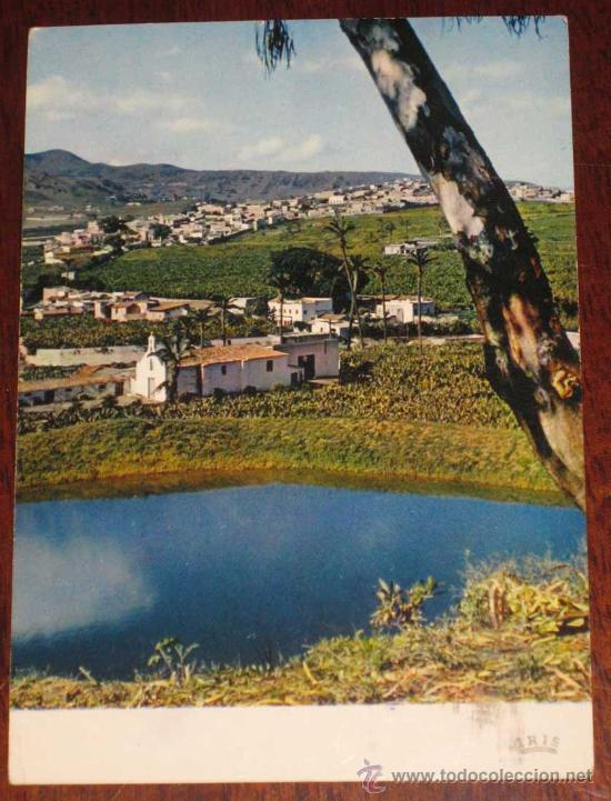 ANTIGUA FOTO POSTAL DE GRAN CANARIA, TAMARACEITE - ISLAS CANARIAS - CIRCULADA. (Postales - España - Canarias Moderna (desde 1940))