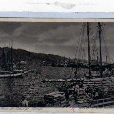 Postales - Canarias. Tenerife. Santa Cruz. Puerto. Foto central Otto Aver. Sin circular. - 19525583