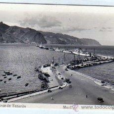 Postales: SANTA CRUZ DE TENERIFE. Nº 47. MUELLE. ED. ARRIBAS. SIN CIRCULAR.. Lote 19540309