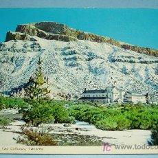 Postales: MONTAÑA DE GUAJARA Y PARADOR DE TURISMO DE LAS CAÑADAS. TENERIFE. CIRCULADA. Lote 19601093