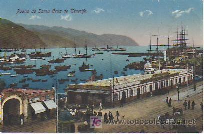 PUERTO DE SANTA CRUZ.TENERIFE.VEA MAS COLECCIONISMO EN GENERAL EN RASTRILLOPORTOBELLO. (Postales - España - Canarias Antigua (hasta 1939))