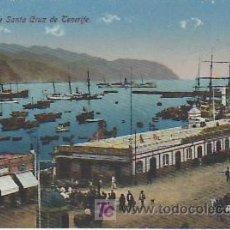 Postales: PUERTO DE SANTA CRUZ.TENERIFE.VEA MAS COLECCIONISMO EN GENERAL EN RASTRILLOPORTOBELLO.. Lote 27025761