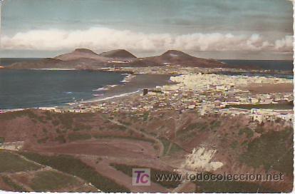 LAS PALMAS DE GRAN CANARIA.-VEA MAS COLECCIONISMO EN RASTRILLOPORTOBELLO (Postales - España - Canarias Moderna (desde 1940))