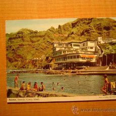 Postales: POSTAL TENERIFE BAJAMAR EL MODERNO HOTEL NAUTILUS ESCRITA. Lote 19833828
