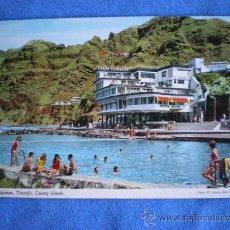 Postales: POSTAL TENERIFE BAJAMAR HOTEL NAUTILUS CON SU PISCINA NATURAL NO CIRCULADA. Lote 20016974