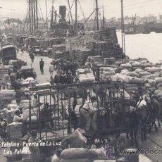 Postales: PUERTO DE LA LUZ.- MUELLE DE SANTA CATALINA. Lote 20118840