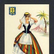 Postales: POSTAL DE CANARIAS: TENERIFE: MUJER (ED.JUAN MELERO). Lote 20675523