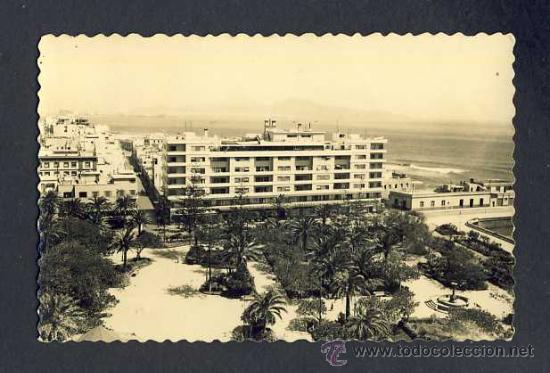 POSTAL DE LAS PALMAS DE GRAN CANARIA: HOTEL PARQUE (ED.LUJO NUM.38) (Postales - España - Canarias Antigua (hasta 1939))