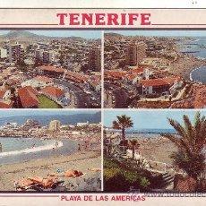 Postales: PLAYA DE LAS AMERICAS - TENERIFE. Lote 20717583