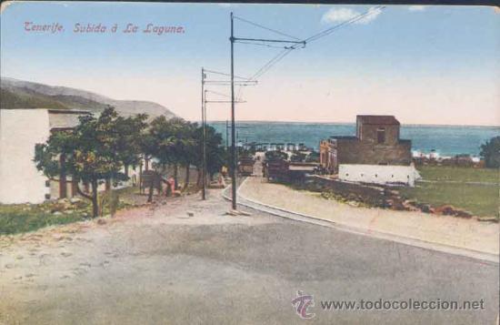 TENERIFE.- SUBIDA A LA LAGUNA (Postales - España - Canarias Antigua (hasta 1939))