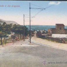 Postales: TENERIFE.- SUBIDA DE SANTA CRUZ A LA LAGUNA. Lote 21024839