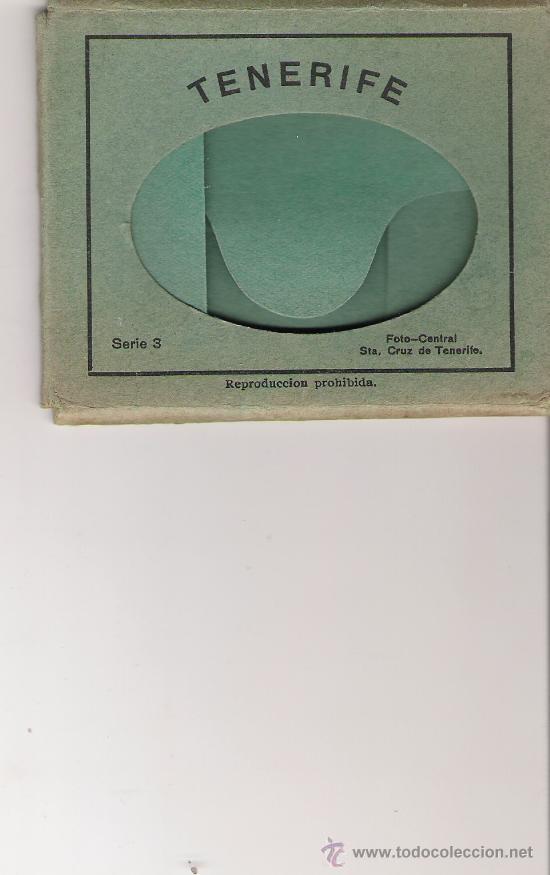 ESTUCHE SERIE 3 - FOTO-CENTRAL - STA. CRUZ DE TENERIFE - 9.1 X 7 CM. - (Postales - España - Canarias Antigua (hasta 1939))