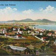 Postales: POSTAL CANARIAS LAS PALMAS CIUDAD JARDIN . RODRIGUES BROS. CA AÑO 1905.. Lote 27227755