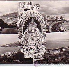 Postales: LA PALMA (ISLA DE LA PALMA - CANARIAS).- RECUERDO DE NTRA. SRA. DE LAS NIEVES. Lote 21678906