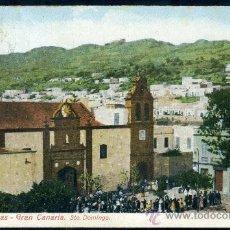 Postales: TARJETA POSTAL DE LAS PALMAS DE GRAN CANARIA, SANTO. DOMINGO. Lote 21939856