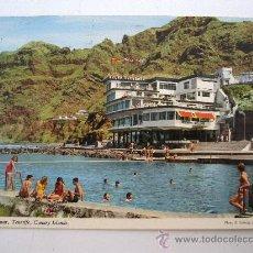 Postales: POSTAL DE BAJAMAR, TENERIFE , CANARY ISLANDS - EDITORA INGLESA JOHN HINDE (CIRCULADA 1980). Lote 21960613