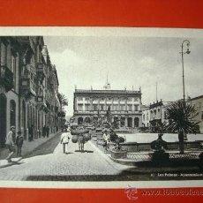 Postales: POSTAL ANTIGUA LAS PALMAS. AYUNTAMIENTO. . Lote 24449915