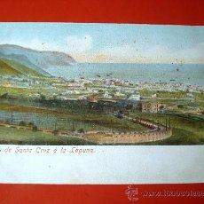 Postales: POSTAL ANTIGUA TENERIFE. SUBIDA DE SANTA CRUZ A LA LAGUNA. . Lote 24519688
