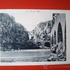 Postales: POSTAL ANTIGUA TENERIFE. EL SALTO DEL NEGRO. . Lote 24519692