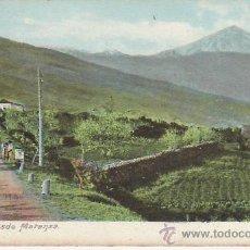 Postales: TENERIFE.PICO TEIDE DESDE MATANZA VEA MAS COLECCIONISMO EN RASTRILLO PORTOBELLO. Lote 26268714