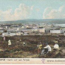 Postcards - PUERTO LUZ-LAS PALMAS.POSTAL NO DIVIDIDA.VEA MAS COLECCIONISMO EN RASTRILLO PORTOBELLO - 24269945