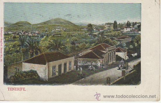 TENERIFE.GRAND BAZAR TINERFEÑO Nº17.PAQUEBOT.MIRE MAS POSTALES EN RASTRILLOPORTOBELLO (Postales - España - Canarias Antigua (hasta 1939))