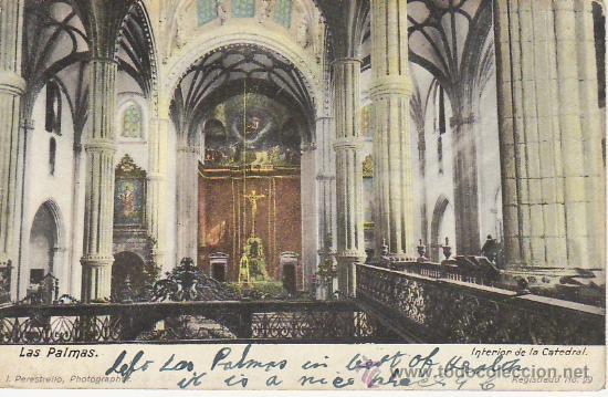LAS PALMAS.PAQUEBOT.MIRE MAS POSTALES Y COLECCIONISMO EN GENERAL EN RASTRILLOPORTOBELLO (Postales - España - Canarias Antigua (hasta 1939))