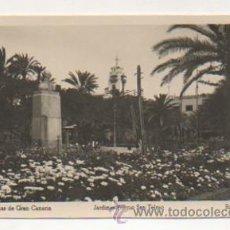 Postales: LAS PALMAS DE GRAN CANARIA. JARDINES PARQUE SAN TELMO. (ED. ARRIBAS). . Lote 22133508