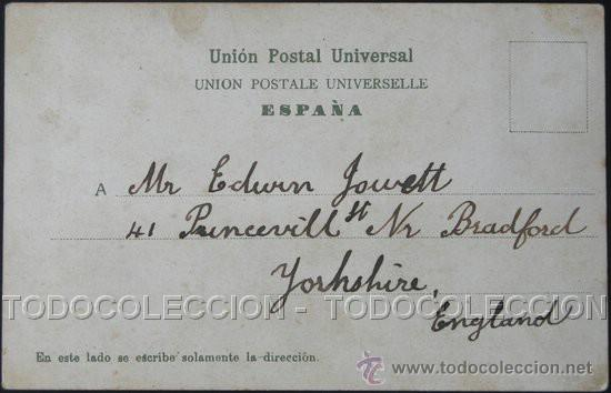 Postales: Dorso. - Foto 3 - 22615542