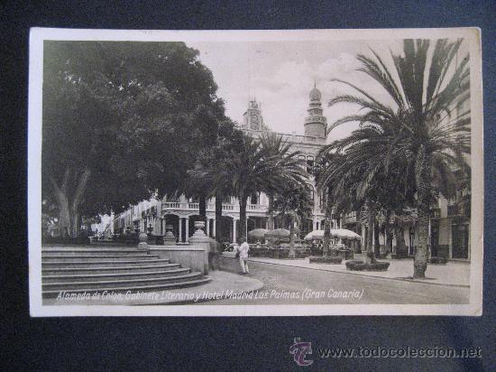 Las Palmasalameda De Colongabinete Literario Comprar Postales