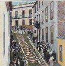 Postales: OROTAVA: ALFOMBRAS DE FLORES NATURALES. BONITA TARJETA POSTAL CIRCULADA 1904 A LONDRES.. Lote 22936021