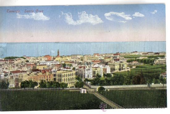 TENERIFE, SANTA CRUZ (Postales - España - Canarias Antigua (hasta 1939))