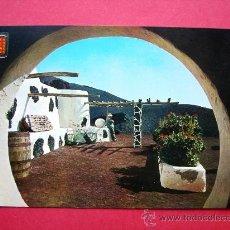 Postales: POSTAL DE LANZAROTE. MONTAÑA DEL FUEGO. TINECHEIDE. Lote 23302464