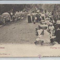 Postales: LAS PALMAS-24-BAZAR ALEMAN(REF-162). Lote 23953061