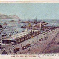 Postales: TENERIFE - SANTA CRUZ - MUELLE. Lote 24006007