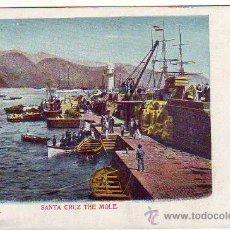 Postales: TENERIFE - SANTA CRUZ - EL MUELLE. Lote 24006708