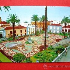 Postales: ALFOMBRA HECHA CON PIEDRAS DEL TEIDE - LA OROTAVA - TENERIFE. Lote 24116537
