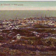 Postales: TENERIFE - SANTA CRUZ - VISTA GENERAL. Lote 24137134