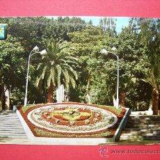 Postales: RELOJ FLORAL - PARQUE GARCÍA SANABRIA - SANTA CRUZ DE TENERIFE. Lote 24256684