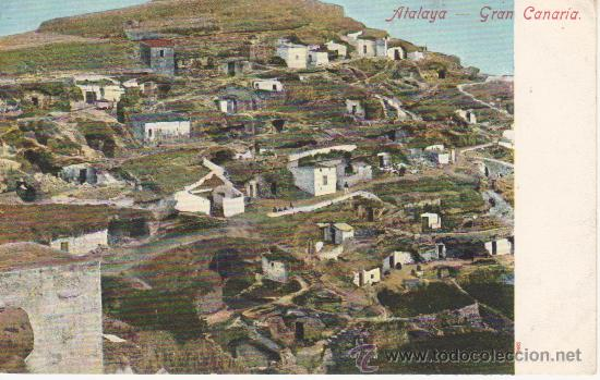 ATALAYA.SIN DIVIDIR, SIN CIRCULAR.VEA MAS COLECCIONISMO EN RASTRILLOPORTOBELLO(DESDE TENERIFE) (Postales - España - Canarias Antigua (hasta 1939))