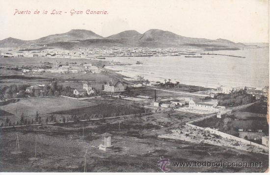 PUERTO DE LA LUZ.CANARIAS.VEA MAS COLECCIONISMO EN RASTRILLOPORTOBELLO(DESDE TENERIFE) (Postales - España - Canarias Antigua (hasta 1939))