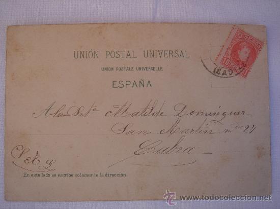 Postales: DETALLE DE LA DIRECCIÓN DE ENVÍO.- CABRA (CÓRDOBA) - Foto 4 - 27436453