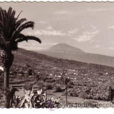 Postales: Nº 7626 TENERIFE CANARIAS CUESTA DE LA VILLA Y EL TEIDE . Lote 24743308