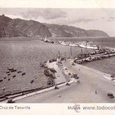 Postales: Nº 8259 ISLAS CANARIAS SANTA CRUZ DE TENERIFE MUELLE. Lote 24934176