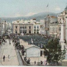 Postales: TENERIFE. ISLAS CANARIAS. MISA DE CAMPAÑA EN LA PLAZA CONSTITUCIÓN. AÑOS 1905.. Lote 25004689