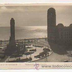 Postales: SANTA CRUZ DE TENERIFE. PLAZA DE ESPAÑA Y CABILDO. (ED. ARRIBAS, Nº 1). Lote 25289969