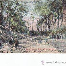 Postales: BARRANQUILLO AÑOS 20 TAFIRA (GRAN CANARIA) EN BONITA POSTAL CIRCULADA PLYMOUTH PAQUEBOT MATASELLOS. . Lote 25308382